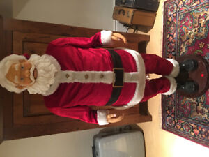 Gemmy 5 foot Christmas Santa Clause for storefront
