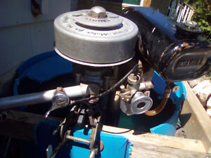 TRADE SEAGULL OUTBOARD 40-PLUS-2 STROKE  FOR WORKING RIDE  MOWER