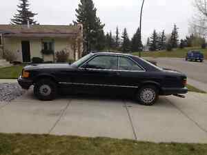1988 Mercedes-Benz 500-Series 560 SEC Coupe (2 door)