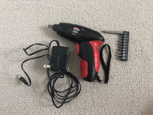 Like New Cordless Screwdriver 4.8V