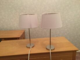 Pair of lamps