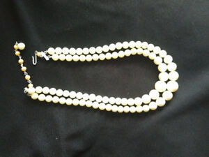 Antique Cultured Pearl Necklace