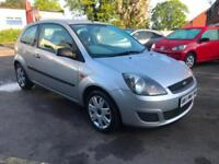 2006 FORD FIESTA 1.4 STYLE CLIMATE 3 DOOR HATCHBACK FULL FORD SERVICE HIS