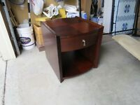 Side Table with 1 top drawer and lower shelf