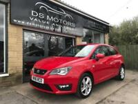2016 Seat Ibiza FR Technology Sport Coupe Red 1.2 Petrol