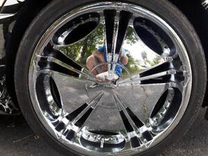 Mags 22 avec pneus ( 5x114,3)