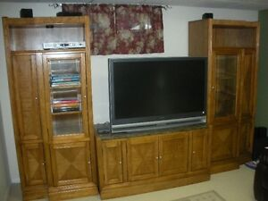 TV Entertainment Stand & Cabinets