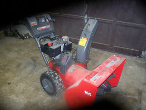 """10 hp 29"""" noma 2 stage snow blower"""