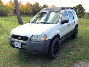 2003 Ford Escape XLS SUV, Crossover, $4000 or best offer