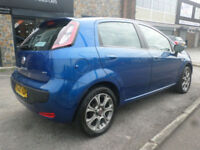2010 Fiat Punto Evo 1.4 8v ( s/s ) GP 5DR 60REG Petrol Blue