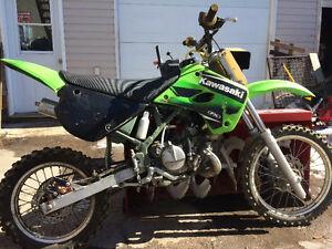 Motocross kx 80r