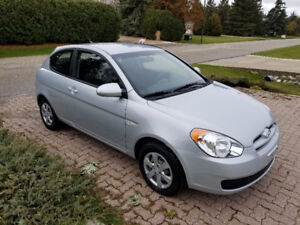2009 HYUNDAI ACCENT, IMMACULATE CONDITION, NEW SAFETY!