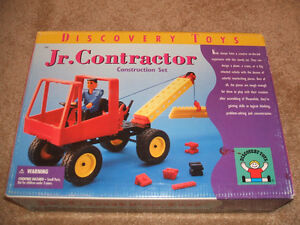 "Discovery Toys ""Jr. Contractor"" Building Set-Out of Print"