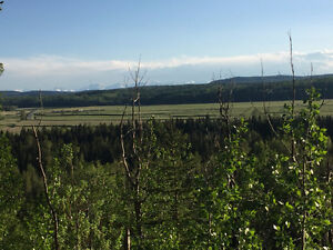 148 Acres S.W of Sundre- River & Mountain Views, Hay & Pasture