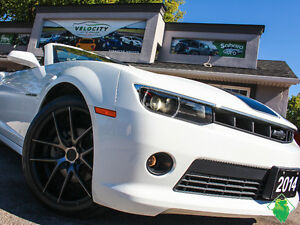 '14 Chev Camaro 2LT/RS Convertible+GM Wrnty+MINT! Only $163/Pmts