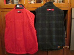 Two Tommy Hilfiger Reversible Vests London Ontario image 2