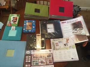 CREATIVE MEMORIES AND OTHER SCRAPBOOKING ALBUMS WITH REFILL PAGE