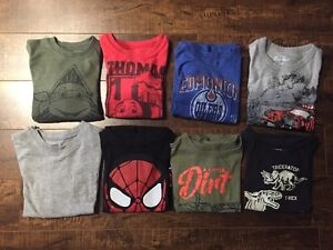 BOYS SHIRTS (8 shirts, size 5T) - $3 each or $15 for all
