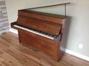 Yamaha apartment size upright piano