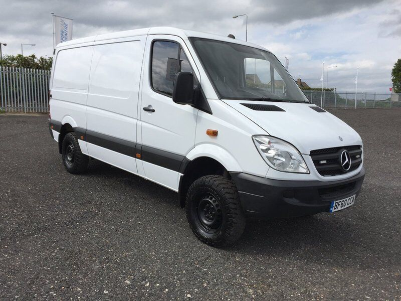 mercedes sprinter 319 cdi mwb 4x4 white 2010 in cowdenbeath fife gumtree. Black Bedroom Furniture Sets. Home Design Ideas