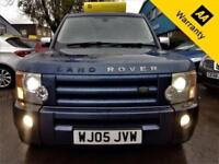 2005 LAND ROVER DISCOVERY 3 2.7 TDV6 SE 188 BHP+P/X WELCOME+TOUCH SAT-NAV+BROWSE