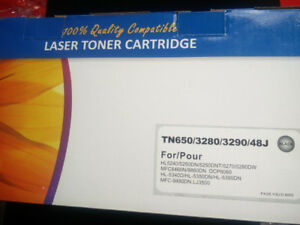 Brother TN650 Compatible Black Toner Cartridge High Yield