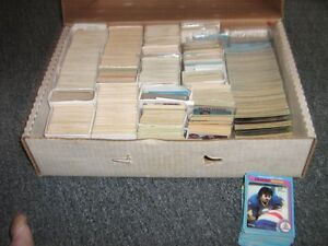 Thousands Of OPC 1970s/80s Hockey Cards+Binder