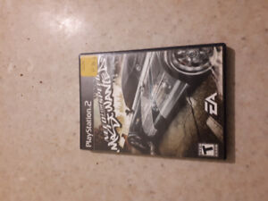 Need for speed most wanted ps2.