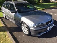 2004 (04) BMW 320i 2.1 MSPORT TOURING, LEATHER, FSH, PARKING SENSORS!