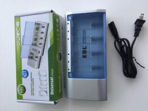 EBL charger for AA AAA C D 9V Ni-MH Ni-CD battery