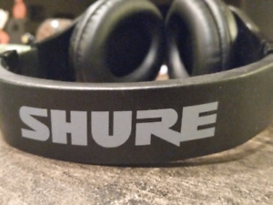 Used Shure closed back headphones