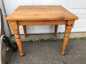 Small Solid Wood Table