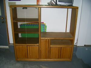 TV solid wood cabinet
