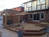 Have your new Deck or Fence ready for spring!  Winter rates!