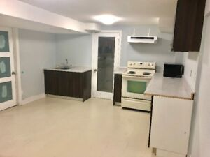 2 bedrooms Apartment Basement  & two full washrooms for Rent