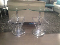 * ~ Urban Barn set of side tables ~ retail $400 +