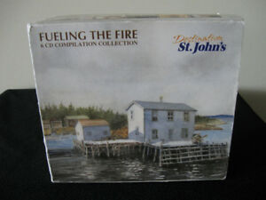 Fuelling The Fire-6 cd box set-Music of Newfoundland/Labrador