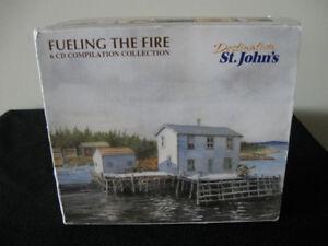 Fuelling The Fire-6 cd box set-Music of Newfoundland/Labrador