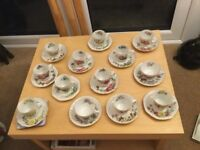 Mini cup and saucers