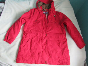 Brand New Womens Red Rain Jacket Size L London Ontario image 1