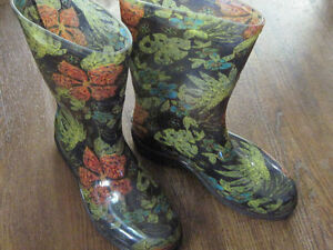 Brand New SLOGGERS Rain Boots, Leather Boots&Jacket+Jewellery