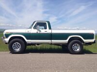 Ford 250 3/4 ton. Everything done but paint!!