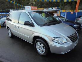 2008 08 CHRYSLER VOYAGER 2.8 CRD EXECUTIVE AUTO IN SILVER # LOW MILEAGE #