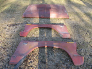 1973-1979 Ford hood, doors and fenders