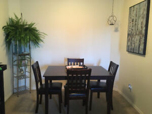 Furnished bedroom in 2 bedroom condo available now for sublet