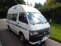 Toyota High Ace 1995 4 Berth End Kitchen Motorhome For Sale