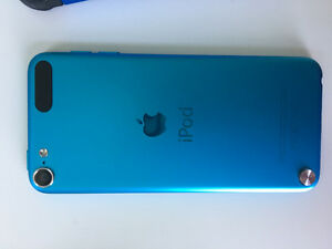Blue iPod touch 5