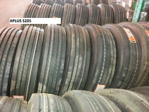 NEW TIRES 11R22.5 11R24.5 315/80R22.5 (STEER, DRIVE & TRAILER) West Island Greater Montréal image 6
