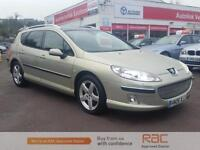 PEUGEOT 407 SW EXECUTIVE HDI 2006 Diesel Manual in Gold