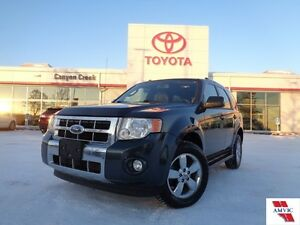 2009 Ford Escape Limited V6 4X4 ONLY 115721KMS Clean CARPROOF